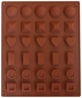 Hua You Silicone Choaclate Mould - Multiple Shapes