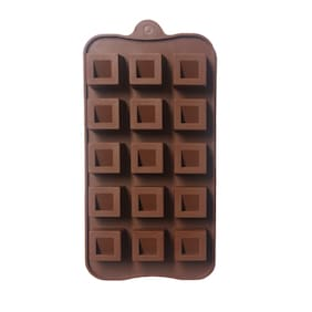 Hua You Square Shaped With Thick Border Chocolate Mould