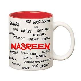 Huppme Good Personality Nasreen Inner Red Mug