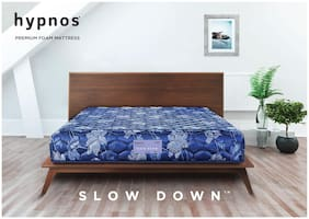 Hypnos Mirage Soft Top PU Foam Mattress Dark Blue 72X72X5