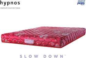 Hypnos Mirage Soft Top PU Foam Mattress Maroon 72X30X4