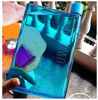 i-gadgets 420 ml Plastic Blue Water bottles - 1 pc