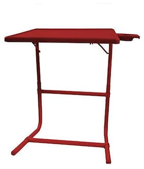 IBS Tablemate Portable Adjustable Table With Double Footrest (TABLE MATE II) Red