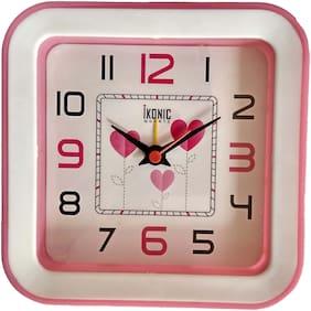 Yes Celebration Plastic Analog Alarm clock ( Set of 1 )