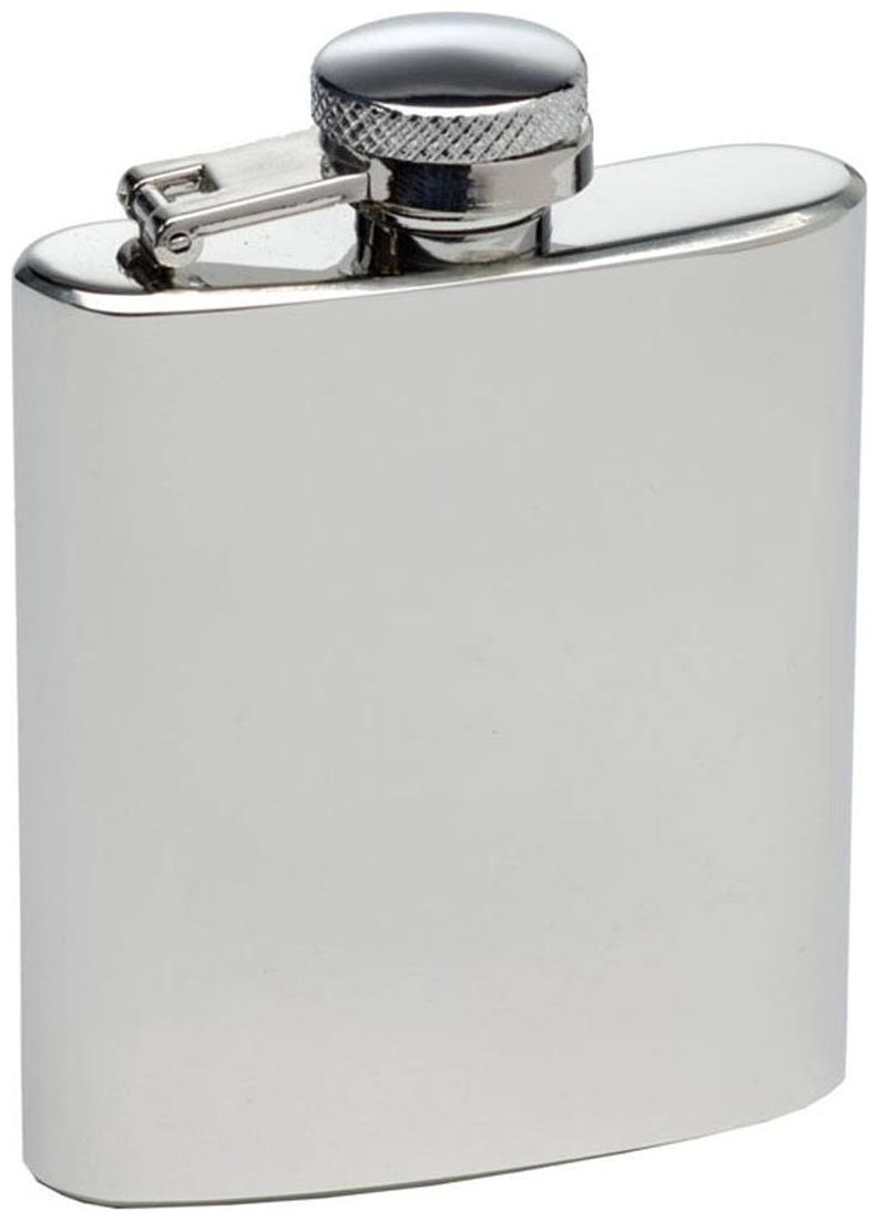 PIA INTERNATIONAL FIRST QUALITY 7oz PLAIN Hip Flask  207ml  by PIA International