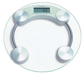 Ideal Home Personal Scale Digital Weight (Round)