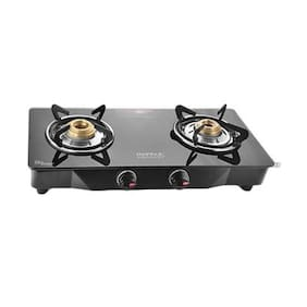 IDEALE 2 Burners Gas Stove - Black