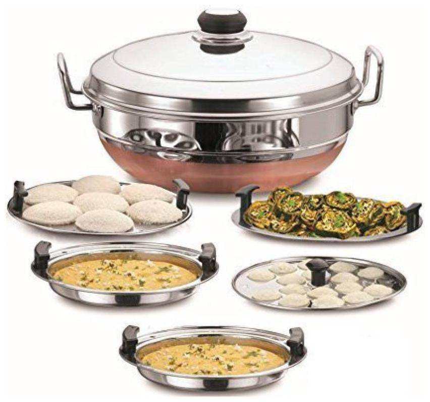 WayMore Steel Idli Maker