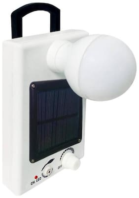 IDOLESHOP 12 LED Bulb With Rechargeable Emergency & Solar Light