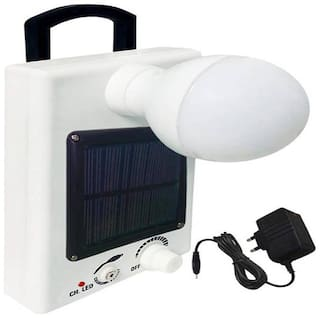 IDOLESHOP 12 LED Solar Bulb With Charge Rechargeable Emergency Light