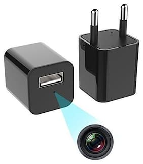 IFITech 1080p HD Hidden Camera| Plug USB Charger| 128GB SD Card Support(not included)| 2 Mode Recording