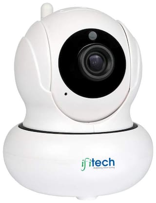 IFITech IFIPT1 Indoor HD 720p Wireless Camera With 355 Degree Pan And 120 Degree Tilt For Home;Office Security;Nanny Cam With Audio