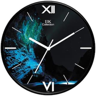 Iik Collection Plastic Analog Wall clock ( Set of 1 )