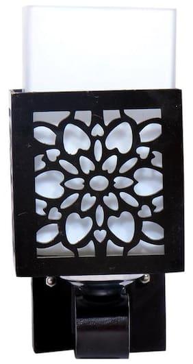 ILLUMINOUS White Metal And Glass Wall Light