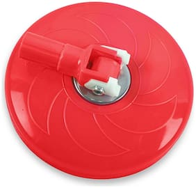 Imaxx Plastic Spin Mop Disk Only (Red)
