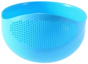 IMMUTABLE Rice, Fruits, Vegetable, Noodles, Pasta - Washing Bowl & Strainer Good Quality & Perfect Size for Storing and Straining