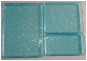 impressions 3pc acrylic serving tray