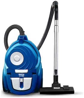 Inalsa Clean Max Bagless Cyclonic Vacuum Cleaner-1900 Watt with Turbo Brush and Dual Proair| Variable Speed Control  (Blue/Black)