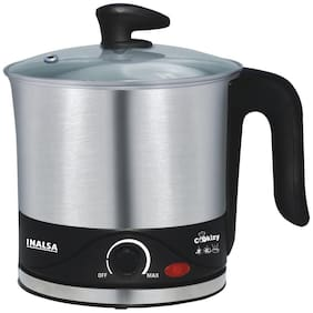Inalsa COOKIZY 1.5 L Black & Grey Electric Kettle ( 700 W )