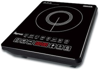 Inalsa IMPRESS 2100 W Induction Cooktop ( Black , Touch Panel Control)