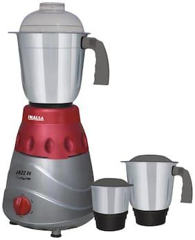 Inalsa JAZZ DX 750 WATT 750 W Mixer Grinder ( Grey , 3 Jars )