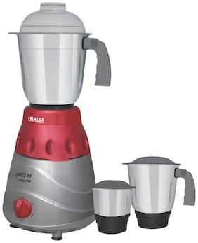 Inalsa Inalsa Jazz Dx 750-Watt Mixer Grinder (Grey/3 Jar)