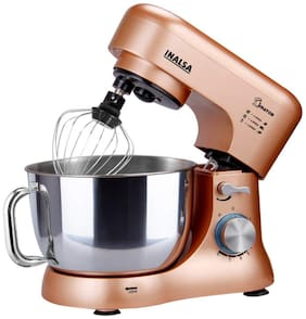 Inalsa KRATOS 1000 W Stand mixer ( Champagne )