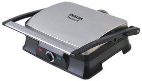 Inalsa Maxgrill-2000 Watt Multifunction Sandwich/Contact Grill (Black & Grey)