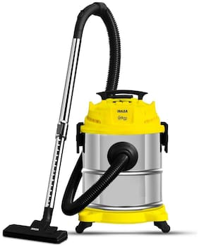 Inalsa Micro WD17 Wet & Dry Vacuum Cleaner (Yellow)