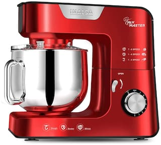 Inalsa MIX MASTER 1200 W Stand mixer ( Red )