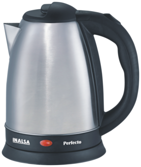 Inalsa Perfecto 1.5 L Electric Kettles (Silver & Black)