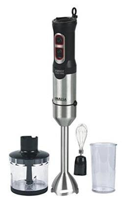 Inalsa Robot Inox 1000 with Chopper DC Motor 800W Hand Blender