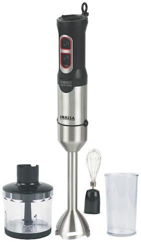 Inalsa ROBOT INOX 800 W Hand blender ( Silver & Black )