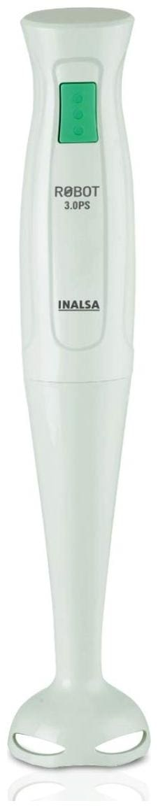 Inalsa ROBOT 3.0 PS 250 W Hand blender ( White & Green )