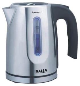 Inalsa Spectra 1.2 Ltr Electric Kettle ( Silver )