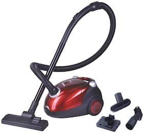 Inalsa Spruce 1200-Watt Dry Vacuum Cleaner (Red/Black)
