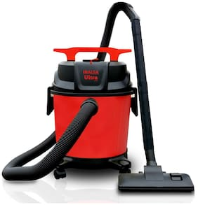 Inalsa Ultra WD10 Wet & Dry Vacuum Cleaner-1000W with 3in1 Multifunction Wet/Dry/Blowing| 14KPA Suction and Impact Resistant Polymer Tank,(Red)