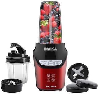 Inalsa VITO BLEND 1000 W Mixer Grinder ( Red , 2 Jars )