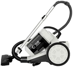 Inalsa Zeus 1400W Bagless Cylinder Vacuum Cleaner with HEPA Filter, Blower Function, Powerful Suction & High Energy Efficiency| 1.5 L Dust Box Capacity (White/Grey)