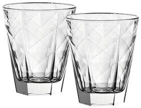 Incrizma Glassware - Scotch and Whiskey Glasses 350 ml Set of 6