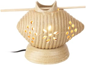 Indeasia Srijan Shankh Aroma Oil Electric Diffuser for Healing Positivity & Peacefull Aura