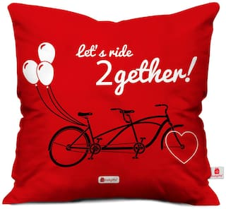Gift Let's ride 2gether Quote Tandem