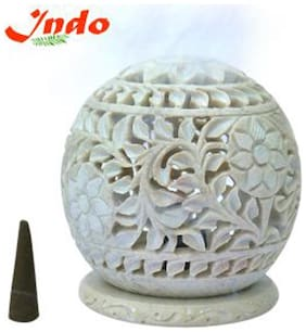 Indo dhoop batti stand - marble 3