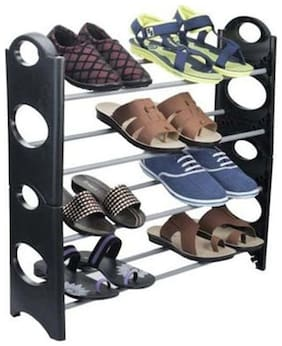 Indo Easy To Assemble & Light Weight Foldable Shoe Rack
