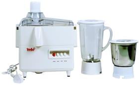Indo FLAVOUR 450 WATT Juicer Mixer Grinder ( White , 2 Jars )