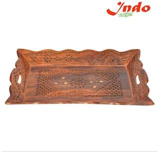 Indo Premium Shisham Wooden Tray