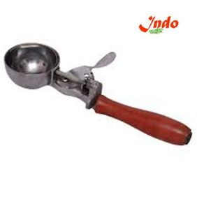Indo Silver Stainless Steel Ice Cream Cutter Cutting