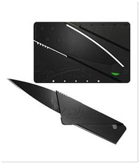 Indo Ultra Thin Cardsharp Credit Card Sized Folding Safety Knife Tool Cutter