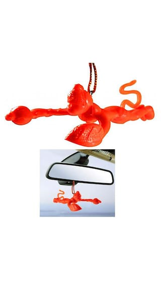 Indoselection Flying Lord Hanuman Hanging Car Idol For All Cars