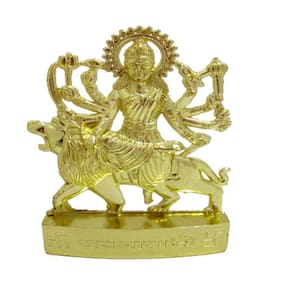 Indoselection Shree Durga Mata Of Metal